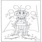 Manualidades - Une los puntos - Klaŭno 54