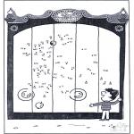 Manualidades - Une los puntos - zoológico 11
