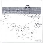 Manualidades - Une los puntos - zoológico 12