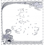 Manualidades - Une los puntos - zoológico 3