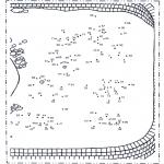 Manualidades - Une los puntos - zoológico 4