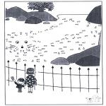 Manualidades - Une los puntos - zoológico 5