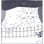 Manualidades - Une los puntos - zoológico 6