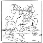 Animales - Vaquero a caballo