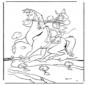 Vaquero a caballo