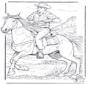 Vaquero con caballo