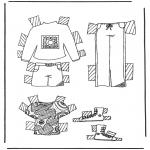 Manualidades - Viste a tu mariquita 5