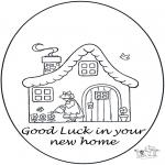 Manualidades - ¡Viva! ¡una nueva casa!