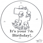 Temas - ¡Viva! ¡ya tienes 7 año!