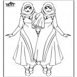 Dibujos Infantiles - Warda - Chicas