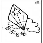 Manualidades - Window color - Cometa