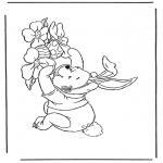 Personajes - Winny de Puh de conejo de Pascua