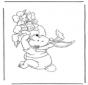 Winny de Puh de conejo de Pascua