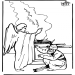 Dibujos de la Biblia - Zacarías
