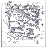 Dibujos de la Biblia - Zaqueo